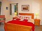 double bedroom 2 on ground floor