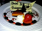 Amazing desserts at Brown's Beach House in the Fairmont Orchid Hotel
