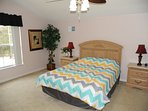 A bedroom all by it self. Large sleeps two, queen size. 42' TV facing the bed, Netflix.