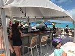Sapphire Beach Bar.
