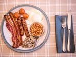 Lots of hearty and healthy breakfasts