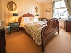 Sumptious bedding and comfy beds