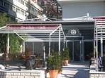 just 50 m away from apartment among many more is reataurant Nostromo serving excellent food