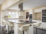 The stunning, recently fitted kitchen