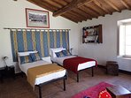 Chambre Familiale Palio 4 petits lits ou 1 grand lit et 2 petits lits