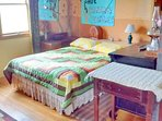 East side double bed.
