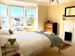 Double Bedroom with Estuary views.