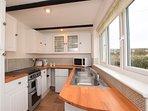 The delightful kitchen area