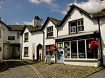 Local village of Hawkshead