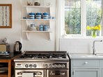 Range oven and hob,perfect for cooking your evening meals