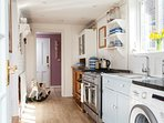 Cottage kitchen with everything you need to cook a meal