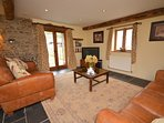 Cosy lounge through to dining area