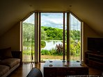 Sit back and admire the views across the lakes