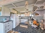 Make your favorite meals in the fully equipped kitchen.