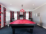 Top floor 3rd games room, ultimate entertaining space with access to balcony