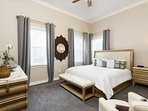 Downstairs Master with King size bed and en-suite