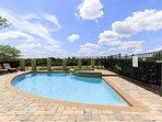 Large pool to enjoy - dimensions 30x15x15x15 ft.