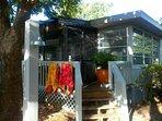 Shellbox Cottage backyard entrance