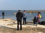 Filming Beachfront Bargain Hunt