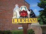 Ludham village sign.