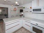Modern appliances will make cooking a breeze!
