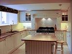 A beautiful farmhouse kitchen