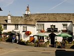 Choice of local pubs in Hawkshead