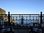 Relax on the balcony and enjoy the wonderful sea views