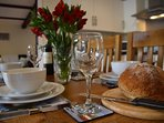 Enjoy a well deserved evening meal after exploring all that Devon has to offer