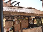 Outdoor thatched Bar/BBQ