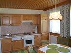 Wohnküche Fewo mit 2 Schlafzimmern