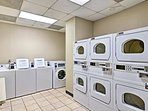 On-site laundry facilities are available.