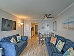The unit is fully updated and ready to host you for the perfect beach getaway.