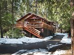 Arnett's Cabin located within 3 min walk to South Fork of the Merced River