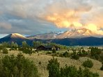 Sunset over Mountain Sanctuary