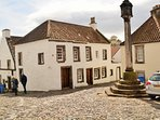 Take a walk into the historic town of Culross