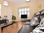 Spacious lounge with stylish finish