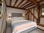 King-size bedroom for long,lazy lie-ins