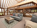 Spacious couples cottage with vaulted ceilings