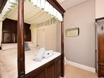 Stunning four poster bed