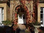 Beautiful grand entrance