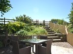Perfect area for alfresco dining