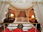 Cosy four-poster bedroom