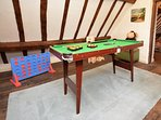 Enjoy games in the attic space