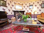 Second ground floor lounge with woodburner