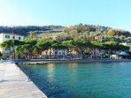 Pontile, fermata  per Portovenere e isola Palmaria, in agosto e fine settimana di luglio
