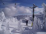 Take in the awesome views and amazing conditions at Sun Peaks