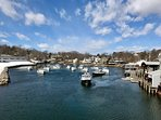 Perkins Cove is a 15-minute walk from the cottage