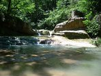 fontaine des amours - swimming/picnic spot 45 mins walk down the road.