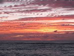 Sunrise over Dawlish Cove